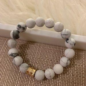 Jewelry - Matte Howlite Bracelet
